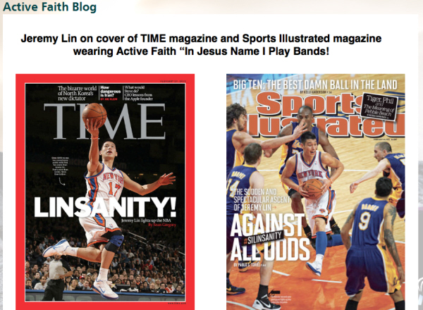 Jeremy Lin Graces Cover of Sports illustrated and Time Magazine!