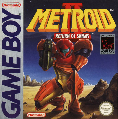Metroid 2 Box (Front)