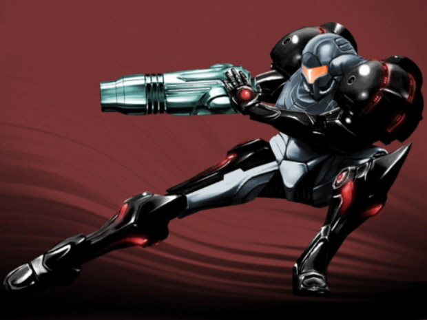 Metroid Prime Phazon Suit Artwork