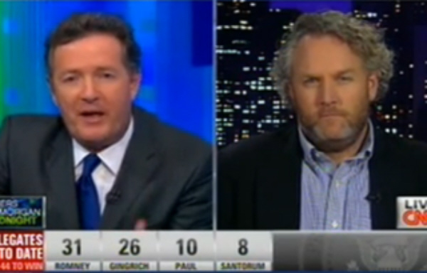 Andrew Breitbart With Piers Morgan on CNN