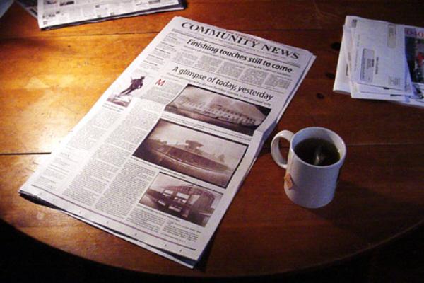 Newspaper Reading