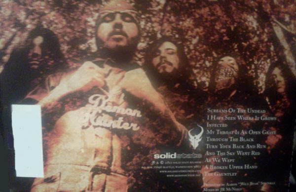 The original Demon Hunter (Band Pic, Self-titled Debut Album)