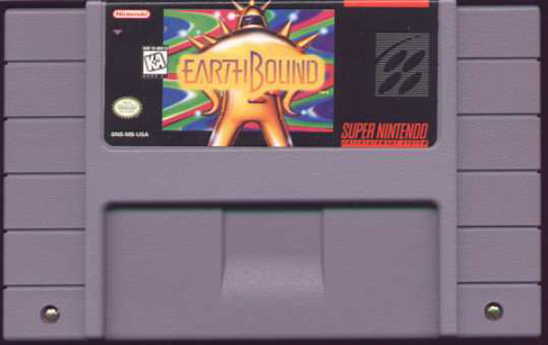 EarthBound SNES Cart