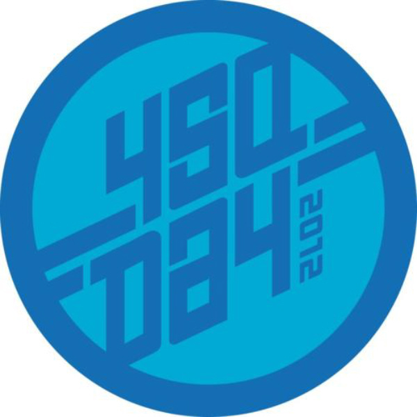 Check in April 16th to earn this Four Square Day 2012 Badge!