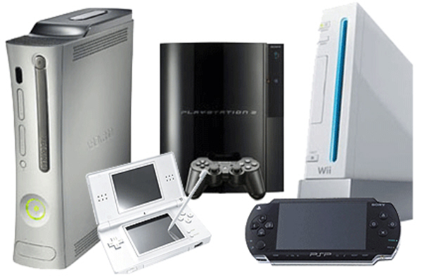 Game Consoles & Handhelds (Xbox 360, PS3, Wii, DS, PSP)