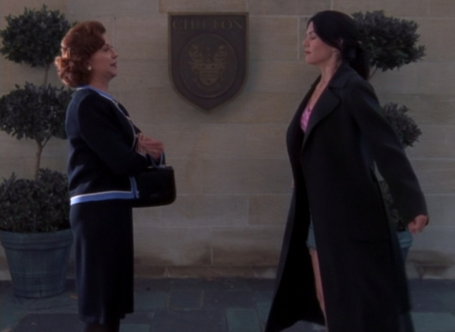 Emily and Lorelai The Battle Rages On Gilmore Girls Episode 2 Screenshot