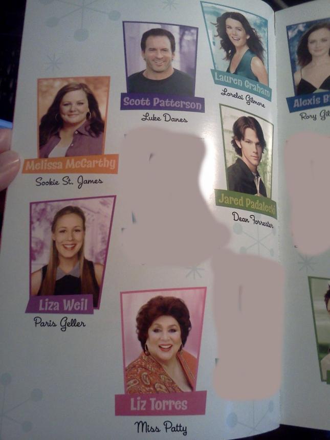 The Season 1 Cast of Gilmore Girls With Loreli & Luke