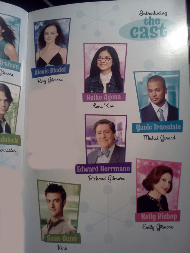 Gilmore Girls cast of Season 1 - Rory and Michel