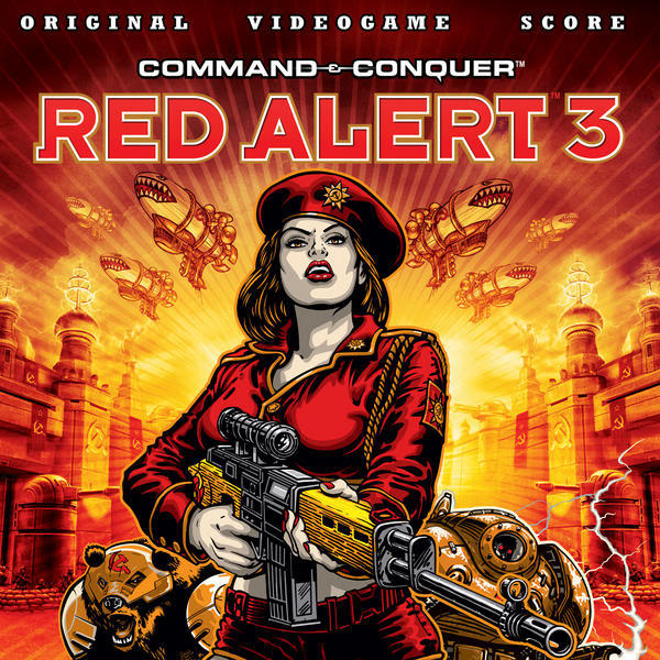 Hells March Remix Red Alert 3 Soundtrack Artwork
