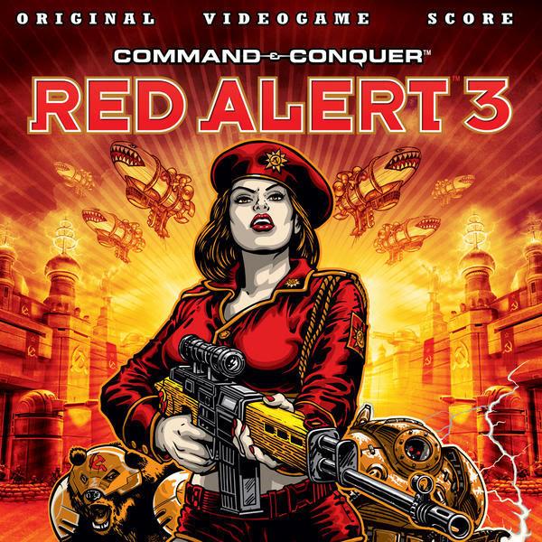 Hells March Remix Red Alert 3 Soundtrack Artwork
