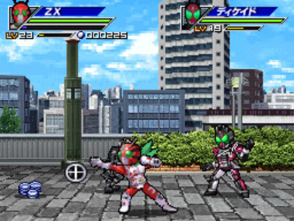 Power Ranger-like Kamen Rider Generation 2 for PS Vita and DS Screenshot