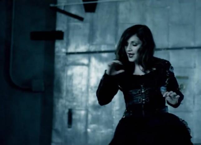 Lacey of Flyleaf in Underworld: Awakening Heavy Prey Music Video