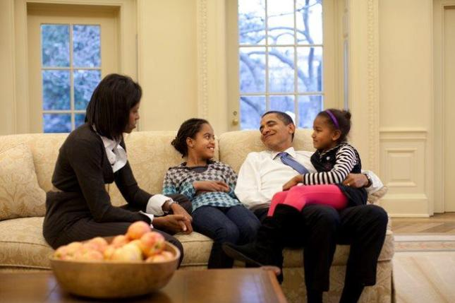 President Obama's Beautiful Family