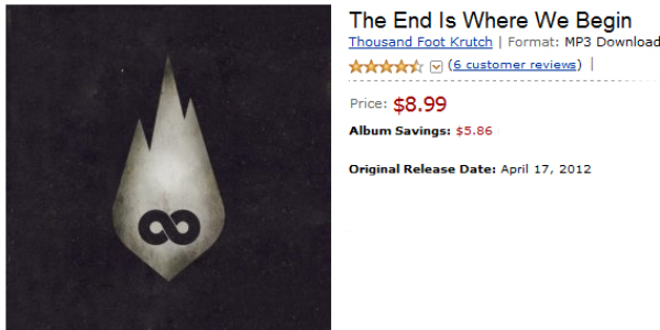 Buy Thousand Foot Krutch's New Album The End Is Where We