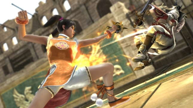 Xiaoyu in Soul Calibur V?