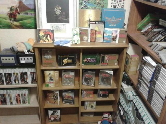 Zelda Collection Shelf!