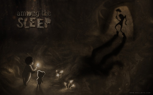 Among the Asleep Wallpaper of Baby Horror Game