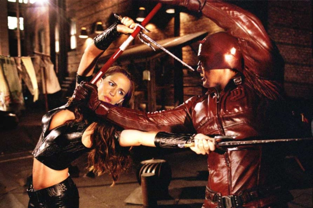 2003 Daredevil vs Elektra Movie Screenshot