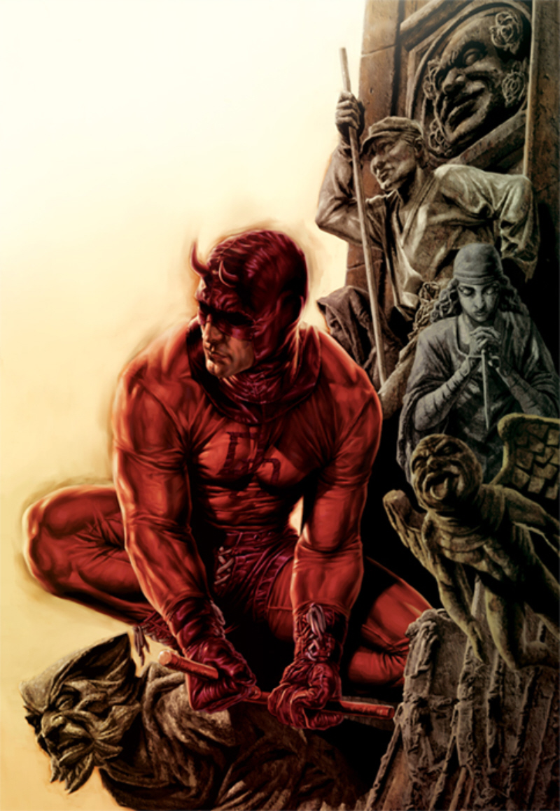 Awesome Daredevil Comic Art