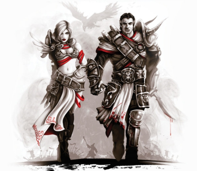 Divinity: Original Sin Love Art