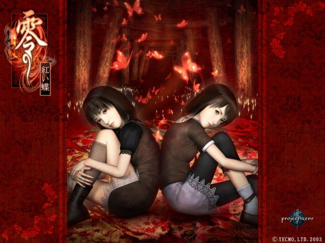 Fatal Frame 2 Wallpaper of Mio & Mayu Sexy Sisters