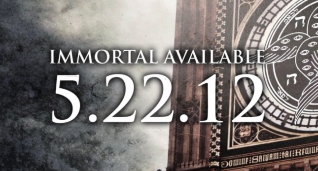 For Today Immortal Release Date Clock Tower Art