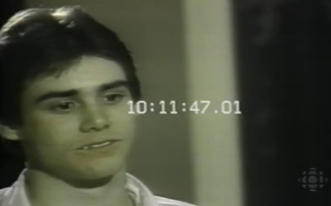 Jim carrey when he was a kid