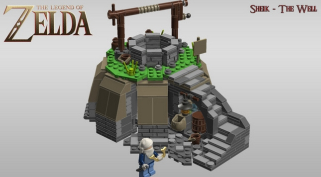 Lego Sheik and the Well