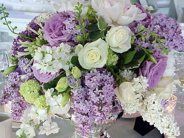 Lilacs & Roses
