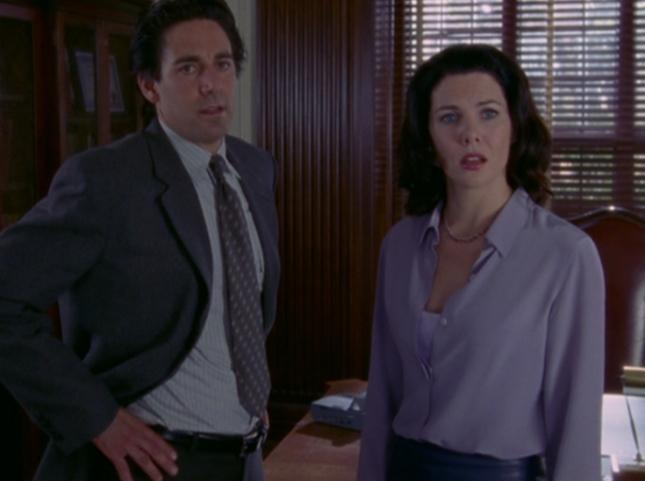 Lorelei Confronts Max & Headmaster Charleston in Anger & Frustration