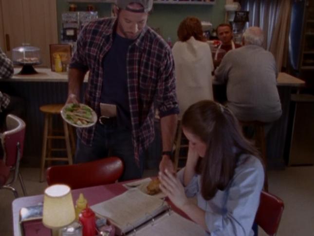 Luke Pie to Rory (The Deer Hunters, Gilmore Girls Episode 4, Season 1)