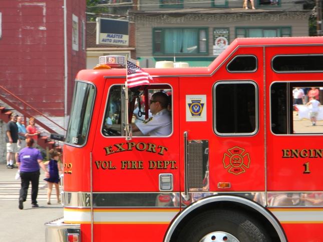 Firetruck Memorial Day 2012 Parade