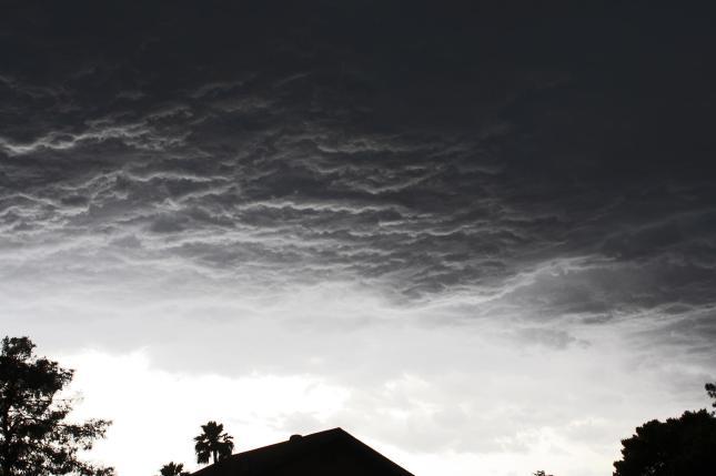 Thunder In the Desert - Dark Stormclouds Phoenix, AZ May 9, 2012