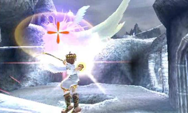 Pit the Angel Screenshot (Kid Icarus: Uprising)