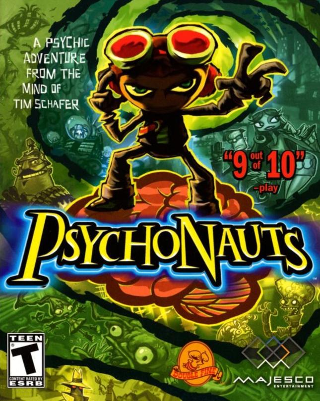 Psychonauts Cover Art