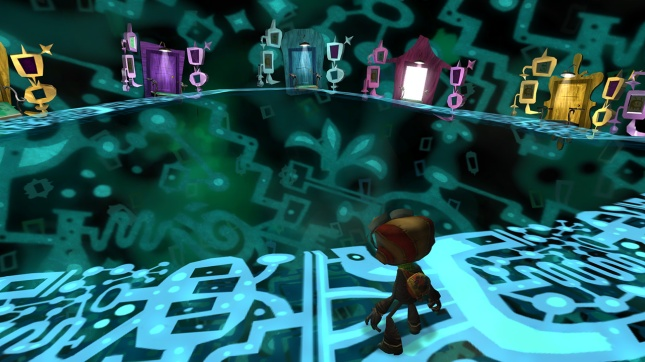 Psychedelic Psychonauts Gameplay Pic
