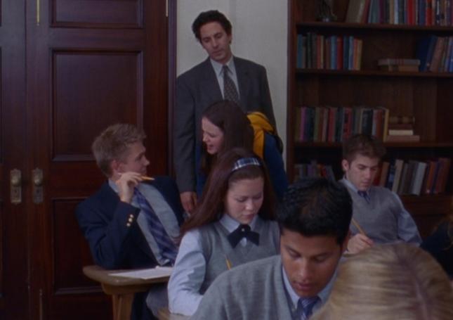 Rory Yells At Triston (The Deer Hunters, Gilmore Girls Screenshot. Season 1, Episode 4)