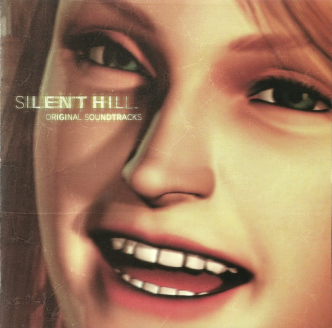Silent Hill 1 Soundtrack Coverart (Japan, PSX)