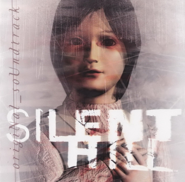Creepy Silent Hill 1 Soundtrack Artwork (PS1 Europe)