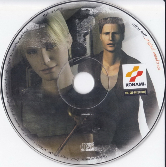 Silent Hill 1 PSX Artwork - CD (Europe)