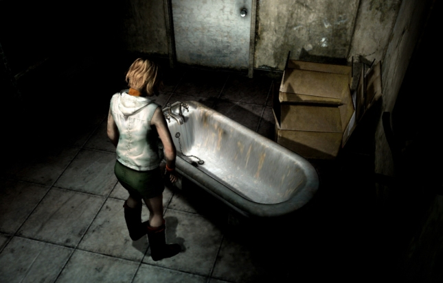 Silent Hill 3 Bathtub