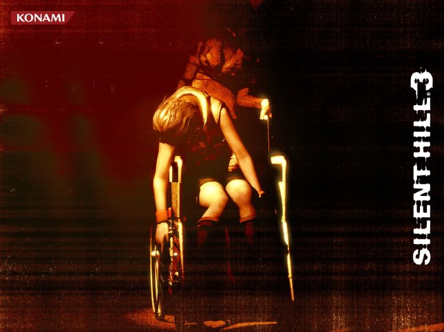 Silent Hill 3 Wallpaper Wheelchair Heather