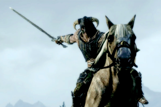 Skyrim Mounted Combat Patch 1.6 Screenshot