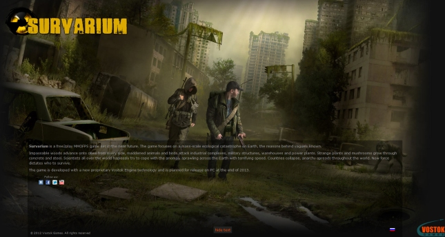 Survarium MMOFPS Videogame Artwork by Vostok Games