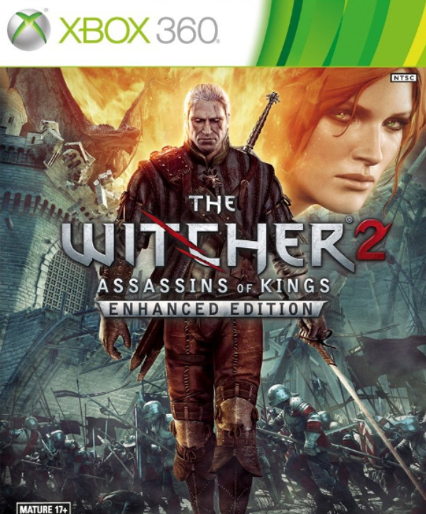 The Witcher 2 Cover Artwork and ESRB Rating