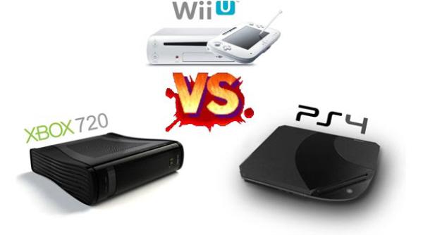 Wii U vs Xbox 720 vs PS4 FIGHT!