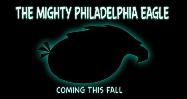 Angry Birds Mighty Philadelphia Eagle Art
