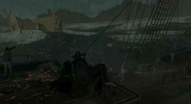 Assassin's Creed 3 Playing Ship Screenshot