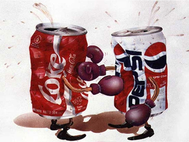 Coke vs Pepsi!