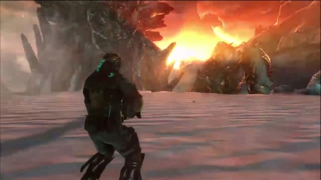 Dead Space 3 Boss Gameplay Campaign Co-Op Screenshot